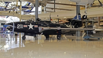 Photo ID 112390 by David F. Brown. USA Navy Grumman F9F 5 Panther, 128109