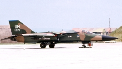 Photo ID 112432 by Walter Van Bel. USA Air Force General Dynamics F 111E Aardvark, 68 0077