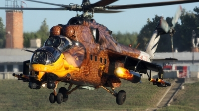 Photo ID 112454 by Gyula Rácz. Hungary Air Force Mil Mi 24V, 716