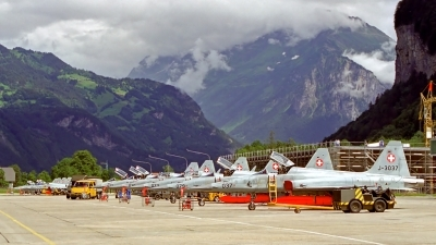 Photo ID 112475 by Sven Zimmermann. Switzerland Air Force Northrop F 5E Tiger II, J 3037