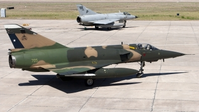 Photo ID 112570 by Chris Lofting. Chile Air Force Dassault Mirage 5MA Elkan, 705