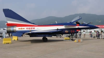 Photo ID 112591 by Peter Terlouw. China Air Force Chengdu J10A, 04