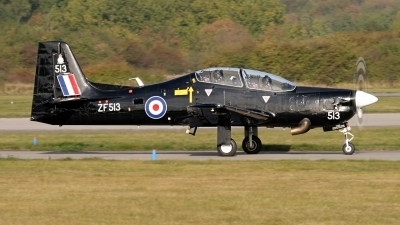 Photo ID 112847 by John Higgins. UK Air Force Short Tucano T1, ZF513