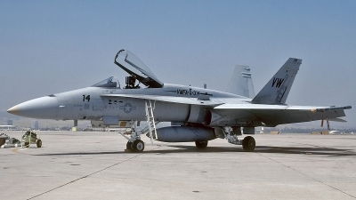 Photo ID 112919 by David F. Brown. USA Marines McDonnell Douglas F A 18A Hornet, 162468