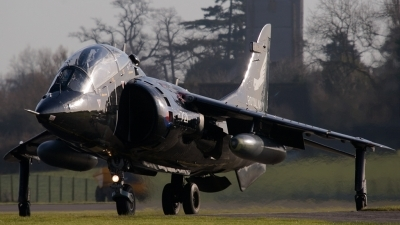 Photo ID 14633 by Lee Barton. UK Navy British Aerospace Harrier T8, ZD990