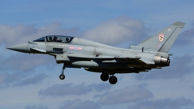 Photo ID 113143 by Lukas Kinneswenger. UK Air Force Eurofighter EF 2000 Typhoon T3, ZJ813
