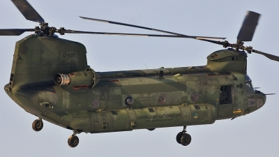Photo ID 113139 by frank van de waardenburg. Netherlands Air Force Boeing Vertol CH 47D Chinook, D 106