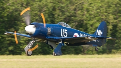 Photo ID 113166 by Andreas Zeitler - Flying-Wings. Private Private Hawker Sea Fury FB11, F AZXJ