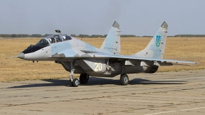 Photo ID 113209 by Chris Lofting. Ukraine Air Force Mikoyan Gurevich MiG 29UB 9 51,