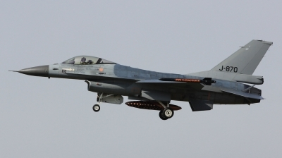 Photo ID 113254 by Milos Ruza. Netherlands Air Force General Dynamics F 16AM Fighting Falcon, J 870