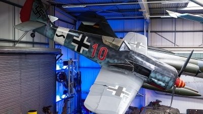 Photo ID 113709 by Tony Printezis. Germany Air Force Focke Wulf FW 190 Replica,