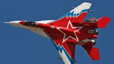 Photo ID 113560 by Jan Suchanek. Company Owned RSK MiG Mikoyan Gurevich MiG 29OVT, 156 WHITE