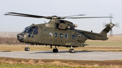 Photo ID 113650 by Tony Osborne - Opensky Imagery. UK Air Force Agusta Westland EH 101 Merlin HC3A Mk512, ZK001