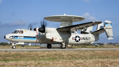 Photo ID 113724 by Tony Osborne - Opensky Imagery. USA Navy Grumman E 2C Hawkeye, 165648