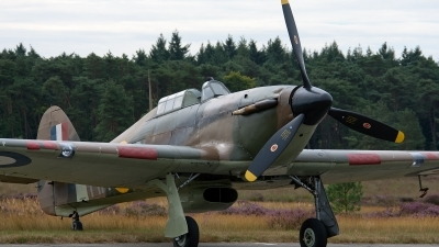 Photo ID 113789 by Jan Eenling. Private Historic Aircraft Collection Hawker Hurricane XII, G HURI