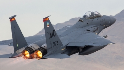 Photo ID 113827 by Jonathan Derden - Jetwash Images. USA Air Force McDonnell Douglas F 15E Strike Eagle, 87 0173