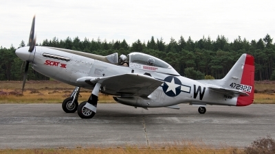 Photo ID 114263 by Jan Eenling. Private Private North American TF 51D Mustang, PH VDF