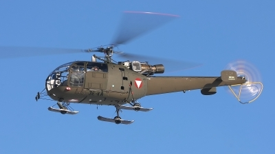 Photo ID 113930 by Werner P. Austria Air Force Aerospatiale SA 316B Alouette III, 3E KA