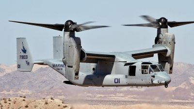 Photo ID 113946 by John Haubrich. USA Marines Bell Boeing MV 22B Osprey, 167903