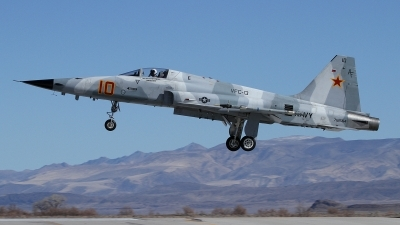 Photo ID 114064 by mark forest. USA Navy Northrop F 5N Tiger II, 761564