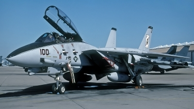 Photo ID 114436 by David F. Brown. USA Navy Grumman F 14A Tomcat, 161607