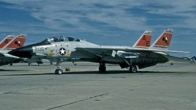 Photo ID 114564 by David F. Brown. USA Navy Grumman F 14A Tomcat, 161864