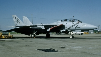 Photo ID 114566 by David F. Brown. USA Navy Grumman F 14B KM Tomcat, 162695