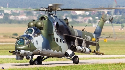 Photo ID 114580 by Andreas Zeitler - Flying-Wings. Czech Republic Air Force Mil Mi 35, 7360