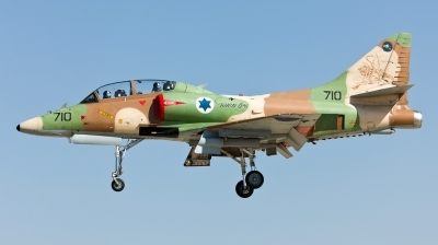 Photo ID 114583 by Andreas Zeitler - Flying-Wings. Israel Air Force McDonnell Douglas TA 4J AyitM, 710