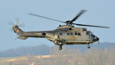 Photo ID 114747 by Sven Zimmermann. Switzerland Air Force Aerospatiale AS 532UL Cougar, T 332