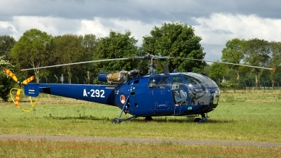 Photo ID 115039 by Thomas Ziegler - Aviation-Media. Netherlands Air Force Aerospatiale SA 316B Alouette III, A 292