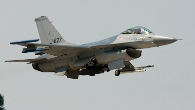 Photo ID 115215 by Jan Eenling. Netherlands Air Force General Dynamics F 16AM Fighting Falcon, J 627