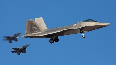 Photo ID 115134 by Jonathan Derden - Jetwash Images. USA Air Force Lockheed Martin F 22A Raptor, 09 4180