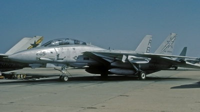 Photo ID 115282 by David F. Brown. USA Navy Grumman F 14A Tomcat, 159021