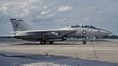 Photo ID 115325 by David F. Brown. USA Navy Grumman F 14A Tomcat, 162689