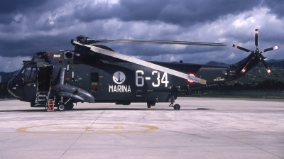 Photo ID 115576 by Giampaolo Tonello. Italy Navy Agusta SH 3D Sea King AS 61, MM81185