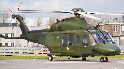 Photo ID 115797 by Roger Harrison. Ireland Air Force Agusta Westland AW139, 275