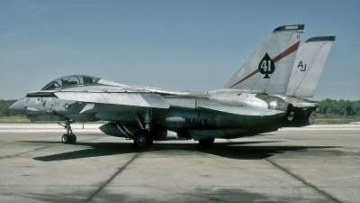 Photo ID 115350 by David F. Brown. USA Navy Grumman F 14A Tomcat, 161864