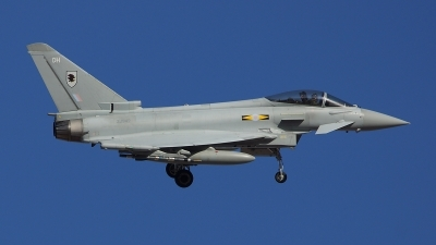 Photo ID 115373 by Lukas Kinneswenger. UK Air Force Eurofighter EF 2000 Typhoon FGR4, ZJ942