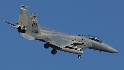 Photo ID 115558 by Lukas Kinneswenger. USA Air Force McDonnell Douglas F 15C Eagle, 84 0018