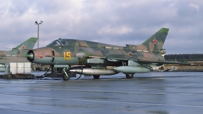Photo ID 115458 by Chris Lofting. Russia Air Force Sukhoi Su 17M4 Fitter K, 15 YELLOW