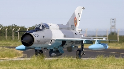 Photo ID 115517 by André Jans. Romania Air Force Mikoyan Gurevich MiG 21MF 75 Lancer C, 5724