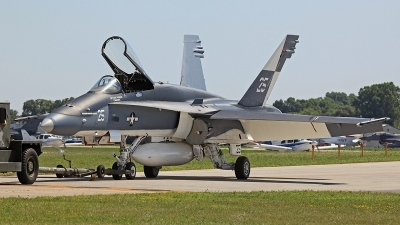 Photo ID 115608 by David F. Brown. USA Navy McDonnell Douglas F A 18C Hornet, 163733