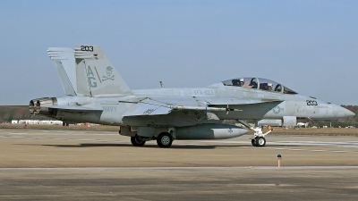 Photo ID 115641 by David F. Brown. USA Navy Boeing F A 18F Super Hornet, 166613