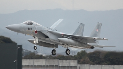 Photo ID 115751 by Lars Kitschke. Japan Air Force McDonnell Douglas F 15J Eagle, 52 8863