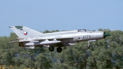 Photo ID 115943 by André Jans. Czech Republic Air Force Mikoyan Gurevich MiG 21MFN, 4175