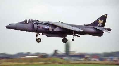 Photo ID 1502 by Paul Tiller. UK Air Force British Aerospace Harrier GR7, ZD407
