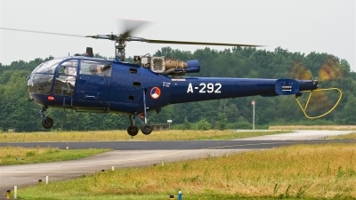 Photo ID 15020 by Alex van Noye. Netherlands Air Force Aerospatiale SA 316B Alouette III, A 292