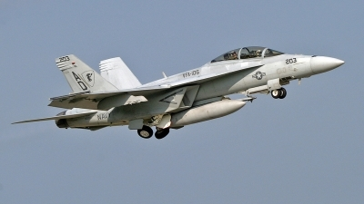 Photo ID 116202 by David F. Brown. USA Navy Boeing F A 18F Super Hornet, 165801