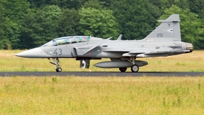 Photo ID 15041 by Alex van Noye. Hungary Air Force Saab JAS 39 EBS HU D Gripen, 43